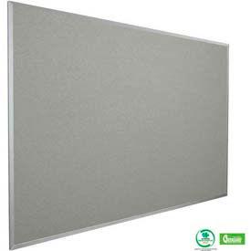 """Balt® Fabric Cork-Plate Tackboard with Aluminum Trim 48""""W x 36""""H Granite"""