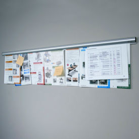 Balt® Tackless Paper Holders - Set of 6 6' Holders