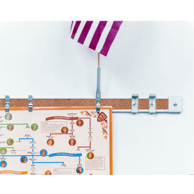 "Balt® Map Rails - Set of 6 - 144""W x 2""H"