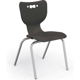 "Balt® Hierarchy 18"" Plastic Classroom Chair - Set of 5 - Black"