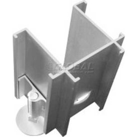 3-Way Right Connector with Adj. Leg For Office Partition Panels