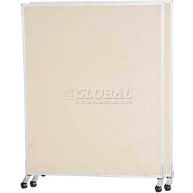 Standard Modular Office Partition Panel 6'H X 5'W Nutmeg Fabric