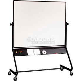 """Balt® Euro Reversible 72""""W x 48""""H Double Sided Dura-Rite Markerboard"""