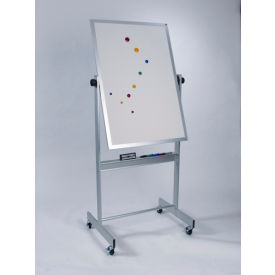 "Balt® Deluxe Reversible Board - Markerboard - Aluminum Trim, 30""W x 48""H"
