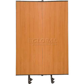 Great Divide Portable Room Divider Add-On Panel 6'H, Laminate
