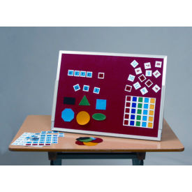 """Balt® Magnetic Flannel Tabletop Easel 24""""W x 18""""H"""