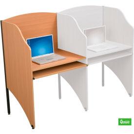 Balt® 89869 Deluxe Add-a-Carrel - Teak