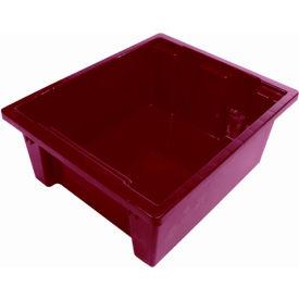 Balt TUBS-6 Plastic Tubs - Set of 6 (3 Red, 3 Blue)