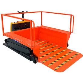 "Ballymore Powered Portable Loading Dock PLDPLUS - 55"" Extending Platform - 1500 Lb. Capacity"
