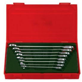 Proto® BW-1451 7 Piece Metric Rev. Ratcheting Combo Wrench Set, 12