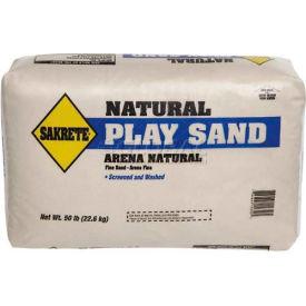 Sakrete® Natural Play Sand, 50 Lb. Bag - 40100301 - Pkg Qty 56