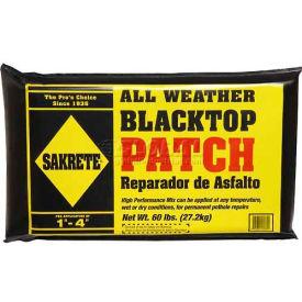 Sakrete® All Weather Blacktop Patch, 60 Lb. Bag - 60200240 - Pkg Qty 40