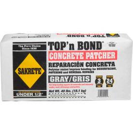 Sakrete® Top N' Bond Concrete Patcher, 40 Lb. Bag - 60201130 - Pkg Qty 40