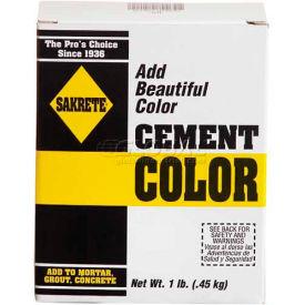 Sakrete® Cement Color Charcoal, 1 lb. 6/Case - 65075002