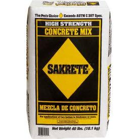 Sakrete® High Strength Concrete Mix, 40 Lb. Bag - 65201030 - Pkg Qty 80