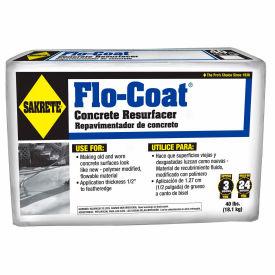 Sakrete® Flo Coat Concrete Resurfacer, 40 Lb. Bag - 65450019 - Pkg Qty 36