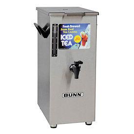 Bunn Iced Tea/Coffee Dispenser - 4 Gallon, Tall, Solid Lid - 03250.0004
