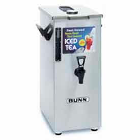 Iced Tea/Coffee Dispensers - 4 Gal. Tall, Brew Through Lid