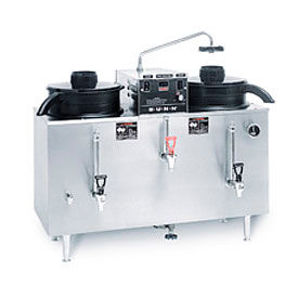 Twin 3 Gallon Auto Electric Coffee Urn, U3 S.S., 120/240V