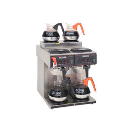 12 Cup Auto Coffee Brewer With 4 Warmers, CWTF 2/2 Twin