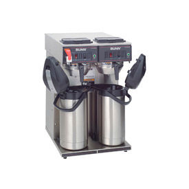 Twin Airpot Coffee Brewer, CwTF Twin-Aps,120/240V Sf