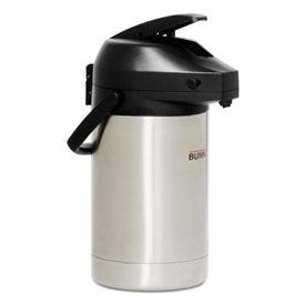 "Bunn 32130.0100 - Airpot, 3 Liter, Stainless Steel Liner, Lever Action, Brew-Through, 14-1/4""H - Pkg Qty 6"