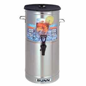 Iced Tea/Coffee Dispenser - 4 Gal./ Solid Lid, 34100.0000
