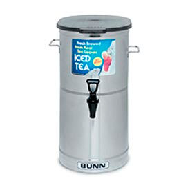 Iced Tea/Coffee Dispenser - 5 Gal./ Solid Lid, 34100.0001