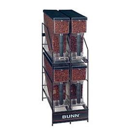 Multi-Hopper Grinder & Storage System, Hopper Rack, Mhg 4 Position