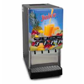 Silver Series® 4-Flavor Cold Beverage System, Fully Lit, Portion Control