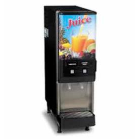 Silver Series™ 2-Flavor Cold Beverage System, Dual Dispense, Juice Display
