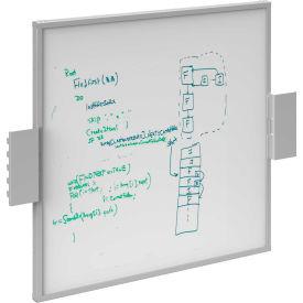 BOSTONtec BS2428W, Workstation Back Screen White Board