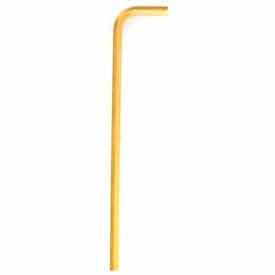 """Bondhus 28100 Goldguard Plated .028"""" Long Arm Hex Key L-Wrench Package..."""