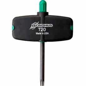 Bondhus 34720 T20 Star Tip Wingdriver Tool - Pkg Qty 2