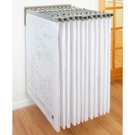 "Brookside - Blueprint Pivot Wall Rack Bundle W/12 Pivot Hangers & 12 18"" Clamps"