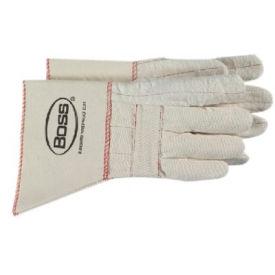 Gauntlet Cuff Hot Mill Gloves, Boss 1bc40721, 1-Pair - Pkg Qty 12