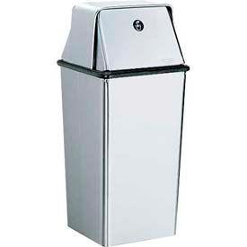 Bobrick® Floor-Standing Waste Receptacle w/ Swing Top