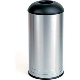 Bobrick® Floor-Standing Dome Top Waste Receptacle, 18 Gallon