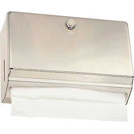 Bobrick® ClassicSeries™ Horizontal Towel Dispenser w/ Knob Latch - B-2621