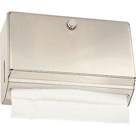 Bobrick® ClassicSeries™ Horizontal Towel Dispenser w/ Knob Latch - B-2621