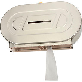 Bobrick® ClassicSeries™ Surface Mounted Twin Jumbo Tissue Dispenser - B-2892