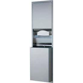 Bobrick® ClassicSeries™ Recessed Convert. Fold Towel Dispenser/Recept - B-3944