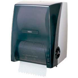Bobrick® Pull Down Surface Mounted Roll Towel Dispenser - Translucent - B-72860