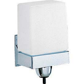 Bobrick® ClassicSeries™ LiquidMate Wall Mounted Soap Dispenser -Chrome - B155