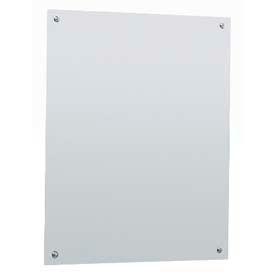 "Bobrick® Frameless Mirror - 17-1/2""W x 29-1/2""H - B1556 1830"