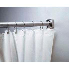 "Bobrick® Vinyl Shower Curtain - 70""W x 72""H - B204-3"