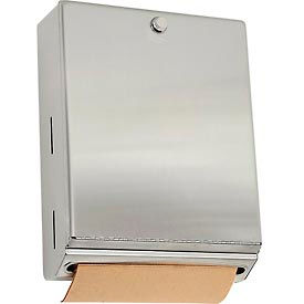 Bobrick® ClassicSeries™ Vertical Paper Towel Dispenser w/ Knob Latch - B2620