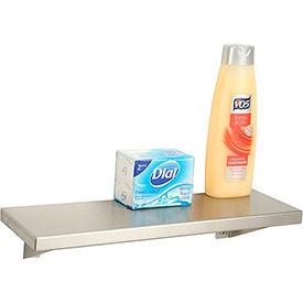 """Bobrick® Stainless Steel Shelf - 16""""W x 5""""D - B295x16"""