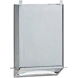 "Bobrick® Recessed Paper Towel Dispenser w/ Concealed Cabinet - 12""W - B318"