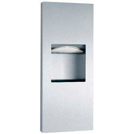 Bobrick® TrimLineSeries™ Recessed Towel Dispenser / Receptacle-1-3/5 Gal - B36903